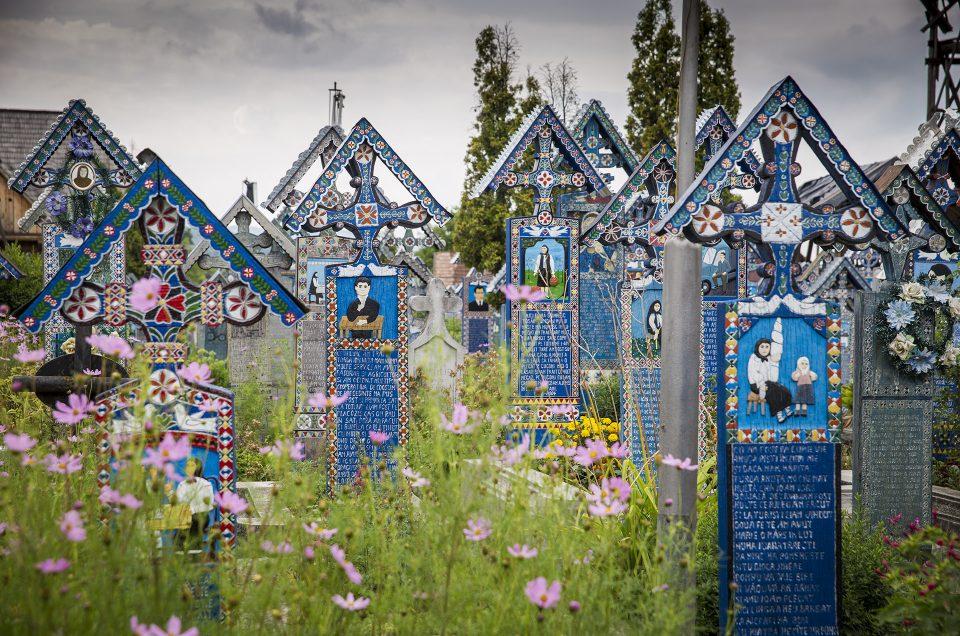 Sapanta, cmentarz w Rumunii